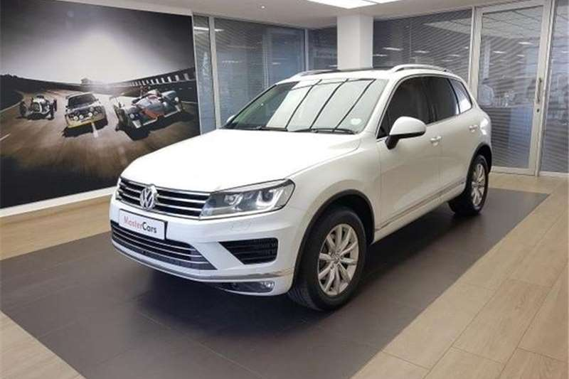2016 VW Touareg