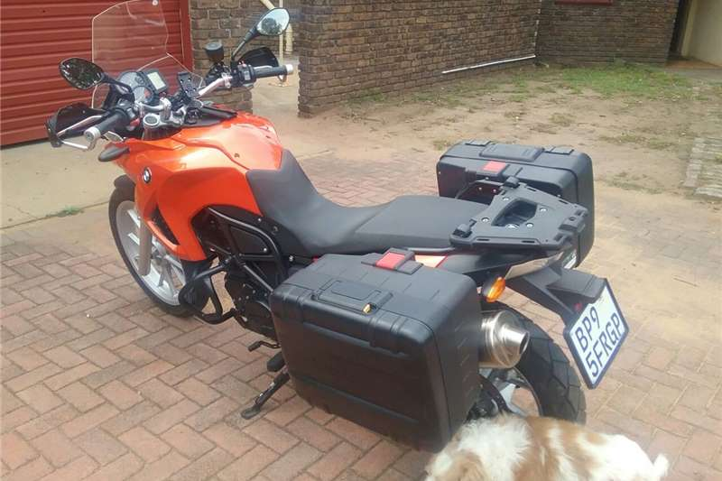 BMW F650 GS Twin Lava Orange 2011