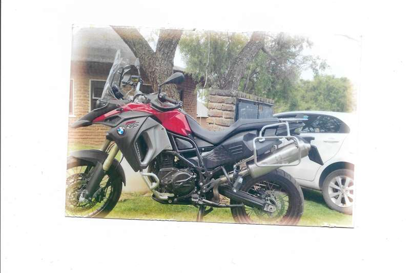 BMW F800 GS Adventure, Manual. 2014