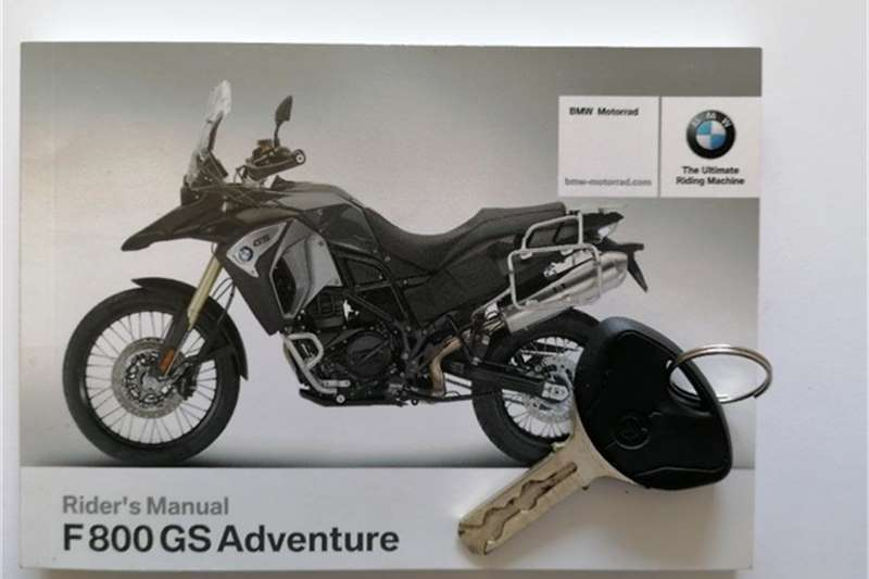 BMW F800 GS Adventure MU 2018