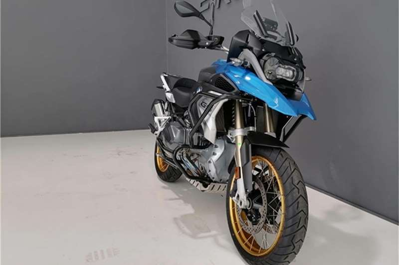 New BMW R 1250 GS adventure tourer bike showcased