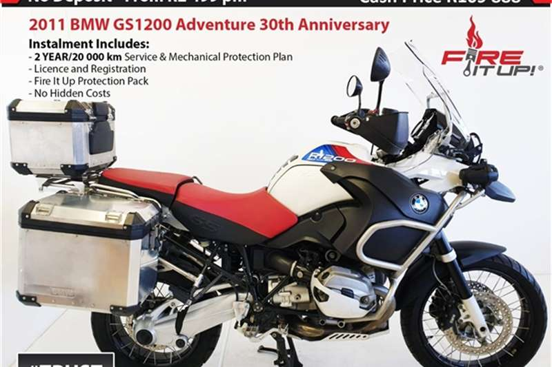 BMW R1200 GS Adventure FL 30th Anniversary edition 2011