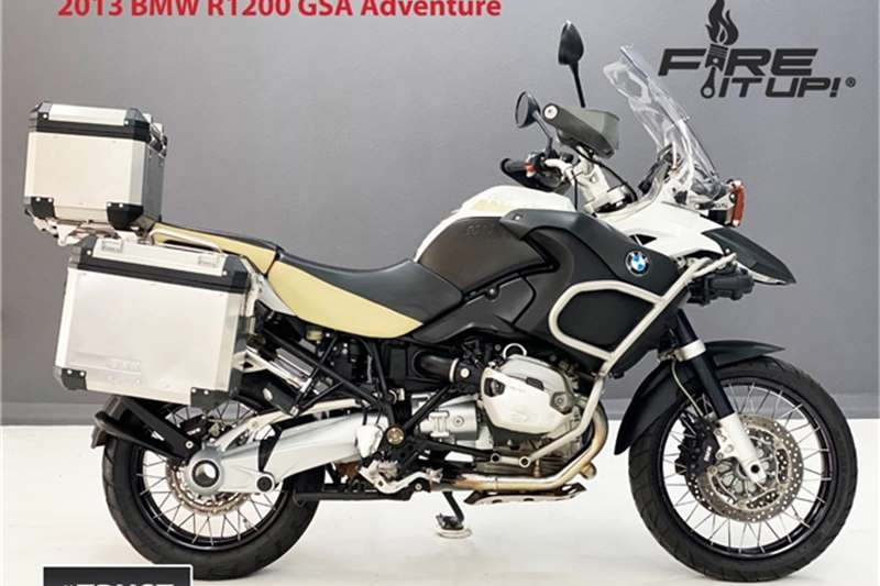 BMW R1200 GSA Adventure 2013