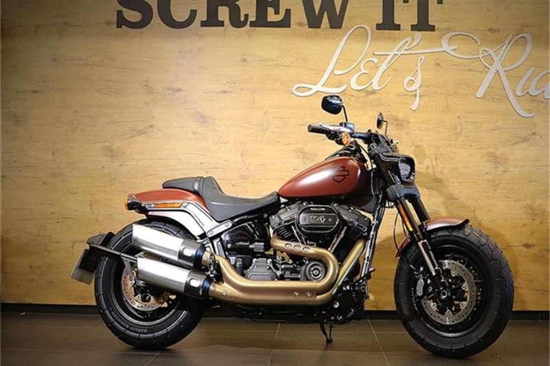 Harley Davidson Current Range    Fat Bob 2018