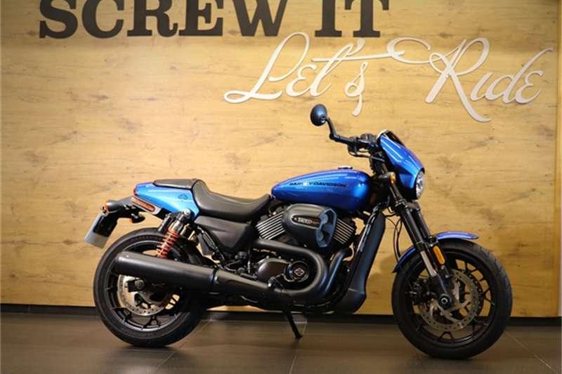 Harley Davidson Current Range    STREET ROD 2018