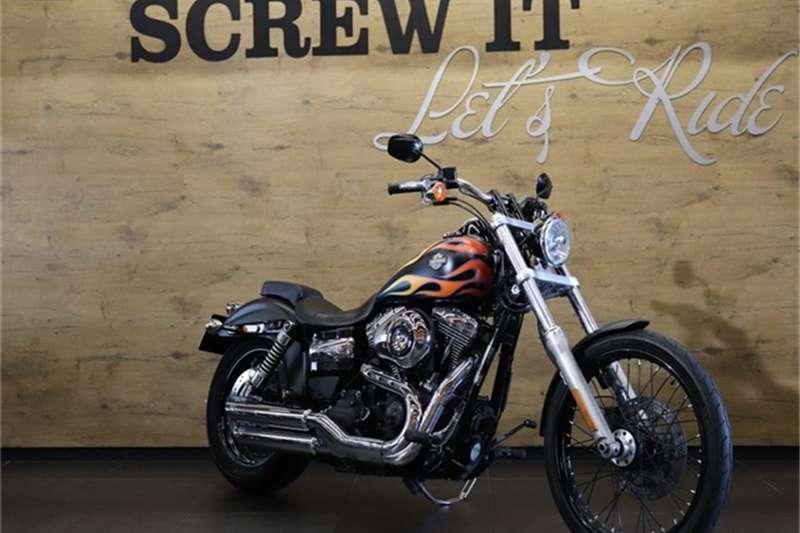 Harley Davidson Dyna FXDWG Wide Glide 2016