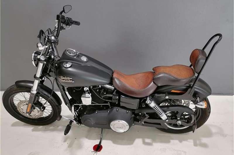 Harley Davidson Dyna Street Bob CUSTOM 103ci 2014