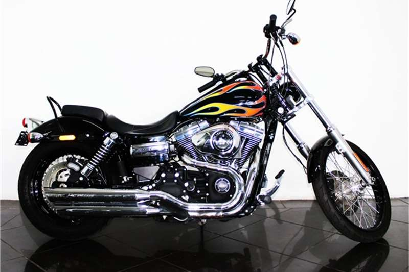 Harley Davidson Dyna Wilde Glide 1700 2016
