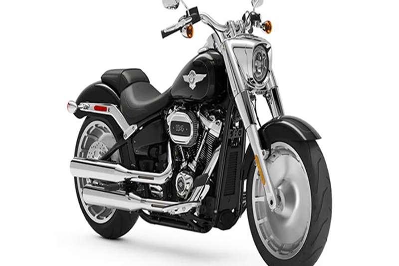 Used 2021 Harley Davidson Fat Boy 114