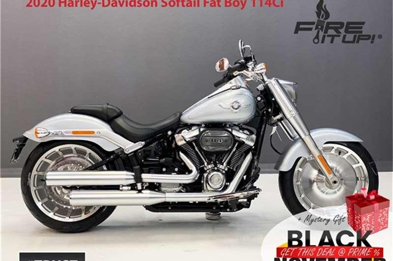 Harley Davidson Fat Boy 114Ci Brand New 2020