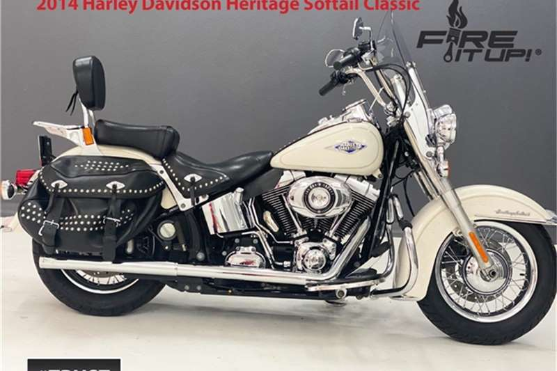 Harley Davidson Heritage Softail Classic 2014