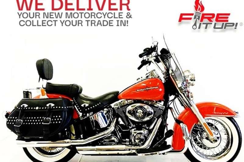 Harley Davidson Heritage Softail Classic Touring 2012
