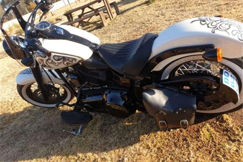 Harley Davidson Softail Custom built 2014