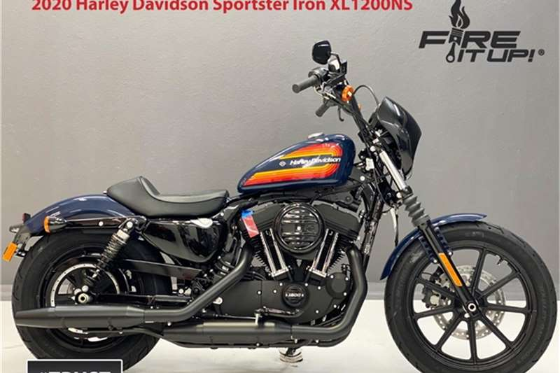Harley Davidson Sportster Iron XL1200NS Brand New 2021