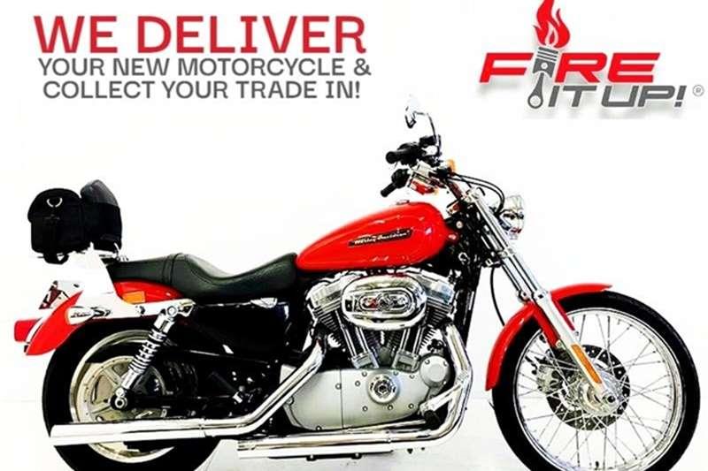Harley Davidson Sportster XL883 Custom 2010