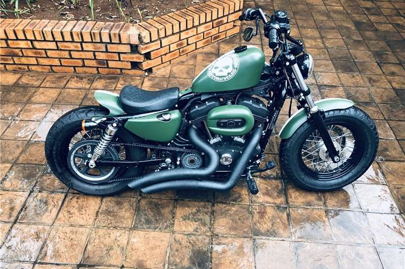 Used 0 Harley Davidson XL 1200X Forty Eight