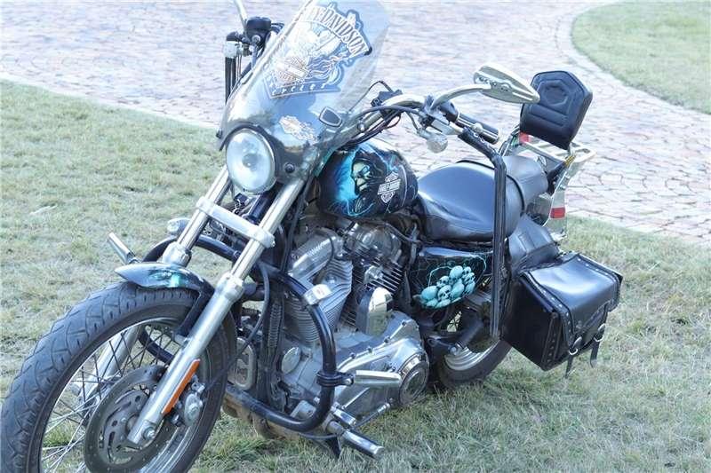 Used 2010 Harley Davidson XL883