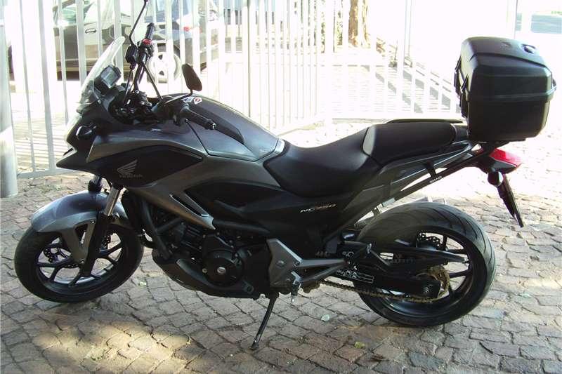 Honda NC750X dtc 2014