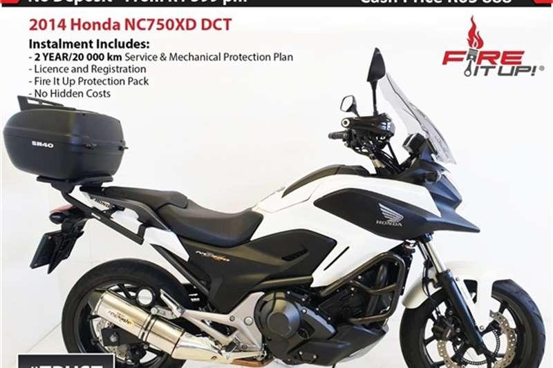 Honda NC750XD DCT 2014