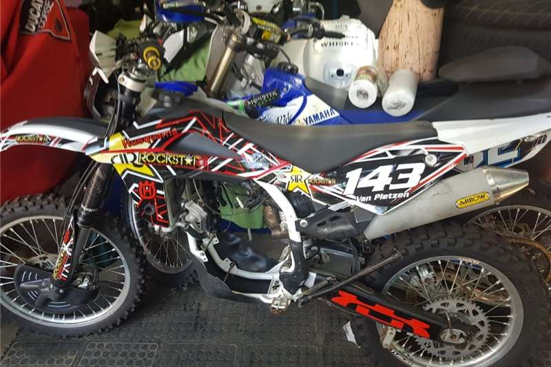 Used 2010 Husqvarna FC 250 Motocross