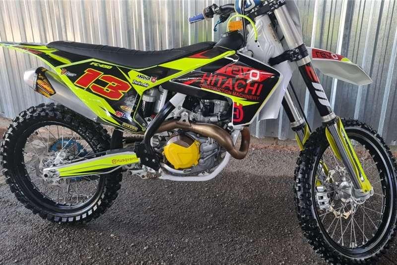Used 0 Husqvarna FC 450 Motocross
