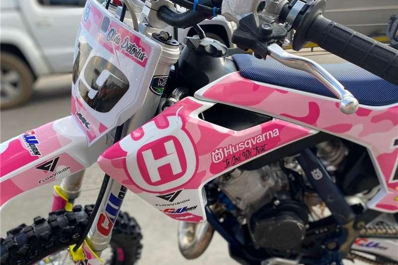 Used 2019 Husqvarna TC 65 Motocross