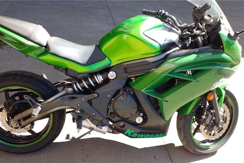 0 Kawasaki ER650F ABS