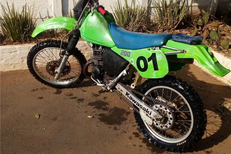 Kawasaki KDX200H 1986