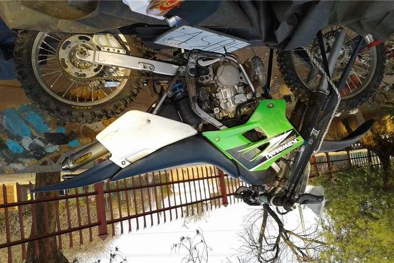 Kawasaki KDX200H 2002