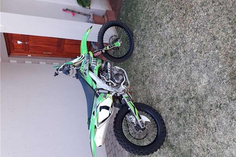Kawasaki KX 2008