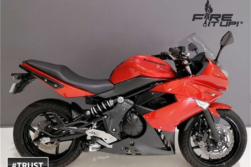 Kawasaki Ninja 650F 2012