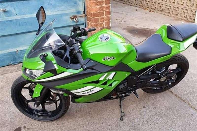Kawasaki Z300 2013