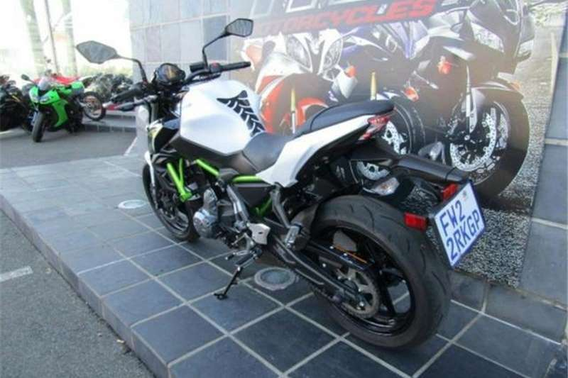 Kawasaki Z650 2017