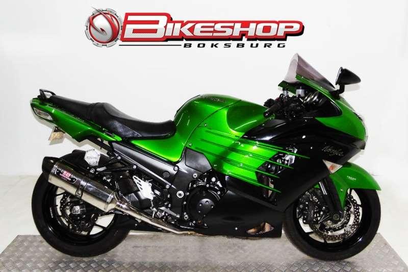 Kawasaki ZX 1000 LEF GREEN