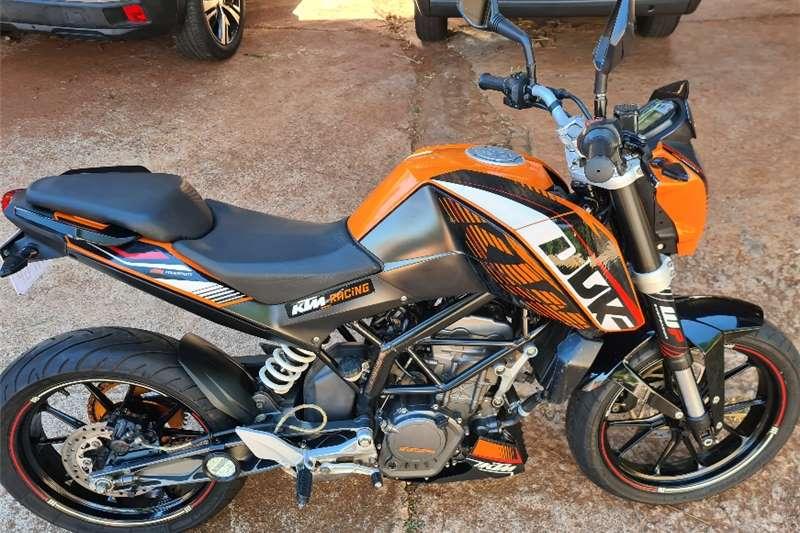 2011 KTM 125 Duke