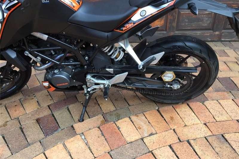 KTM 125 Duke 2013