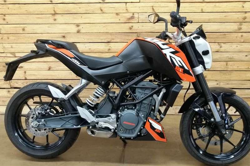 Used 2014 KTM 125 Duke