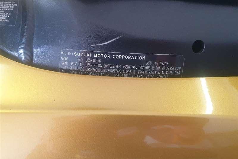 Suzuki GSX 2009