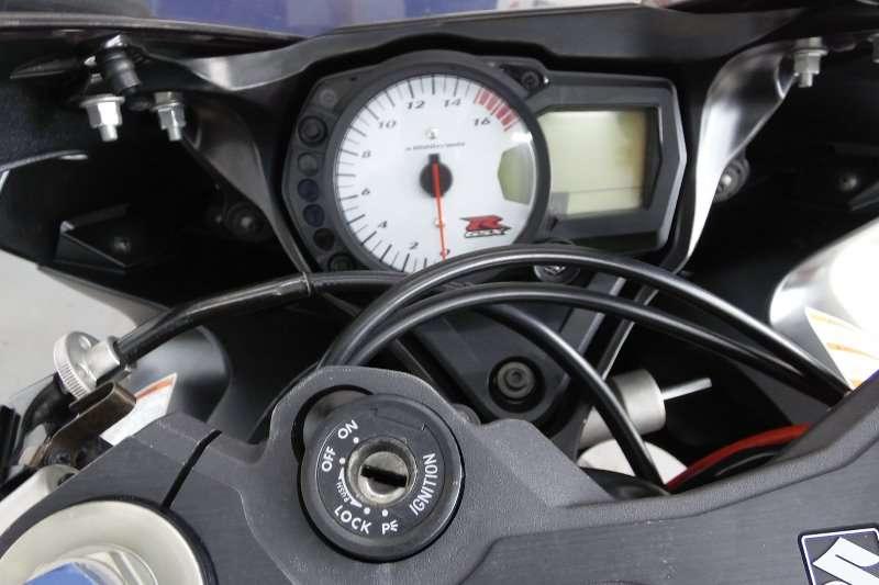 Suzuki GSXR750 2007