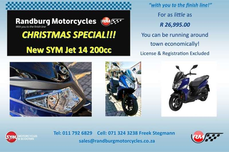 Sym Jet 14 200 2020