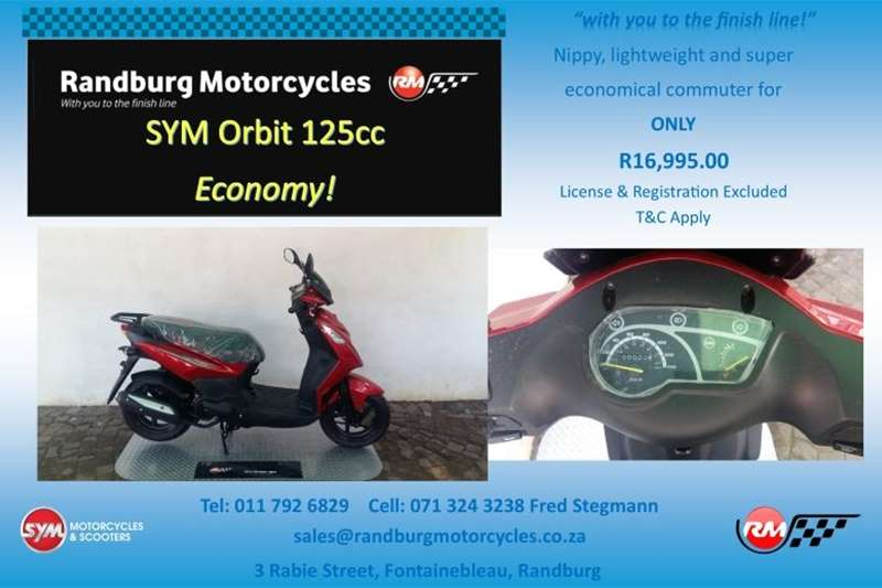 Sym ORBIT II 125 2020