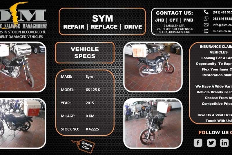 Sym XS125-K 2015