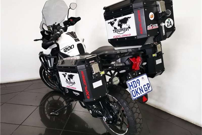 Used 2017 Triumph Explorer