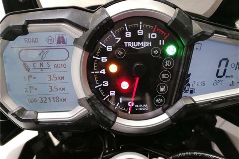 Triumph Explorer XCA Full Spec 2017