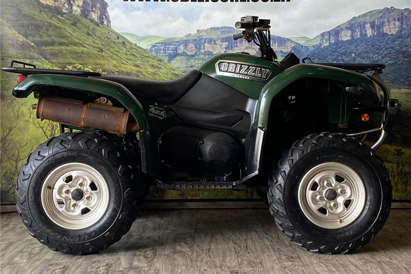 Yamaha Grizzly 2003