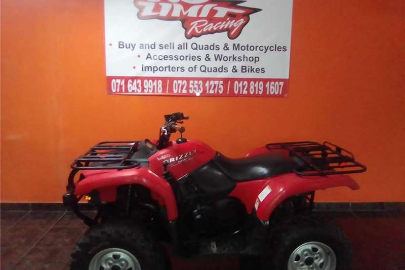 Yamaha Grizzly 2006