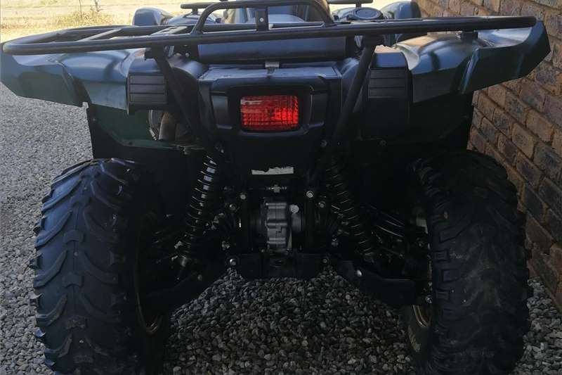 Yamaha Grizzly 2012