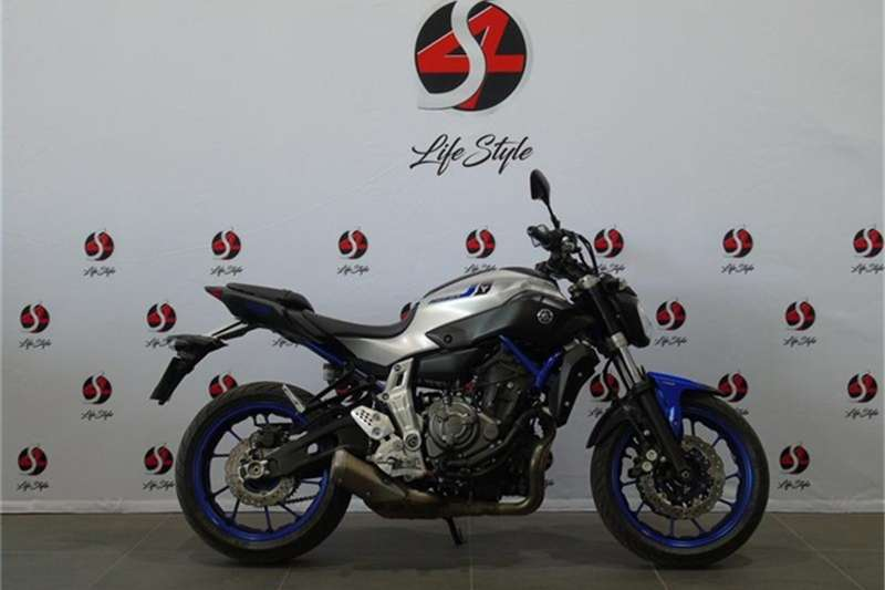Yamaha MT-07 700 2016