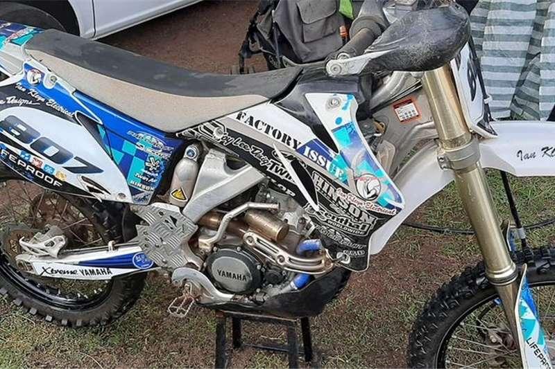Yamaha YZ250 0