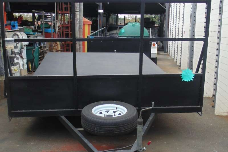 Accessories Trailers SILVER DIAMOND FLAT BED TRAILER 2011